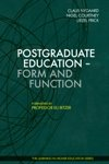 Postgraduate Education: Form and Function